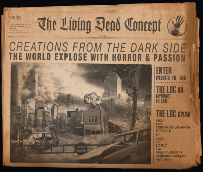 Creations from the Dark side. The world Expose on horror and passion