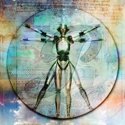 Transhuman Images: da Vinci