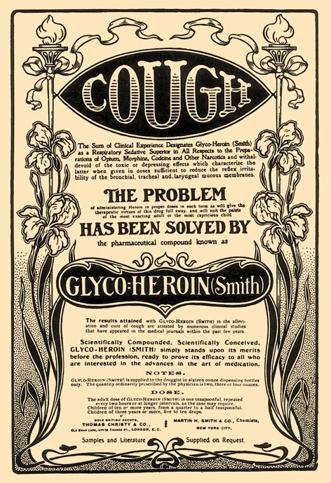 Let's cure that cough with Heroin!