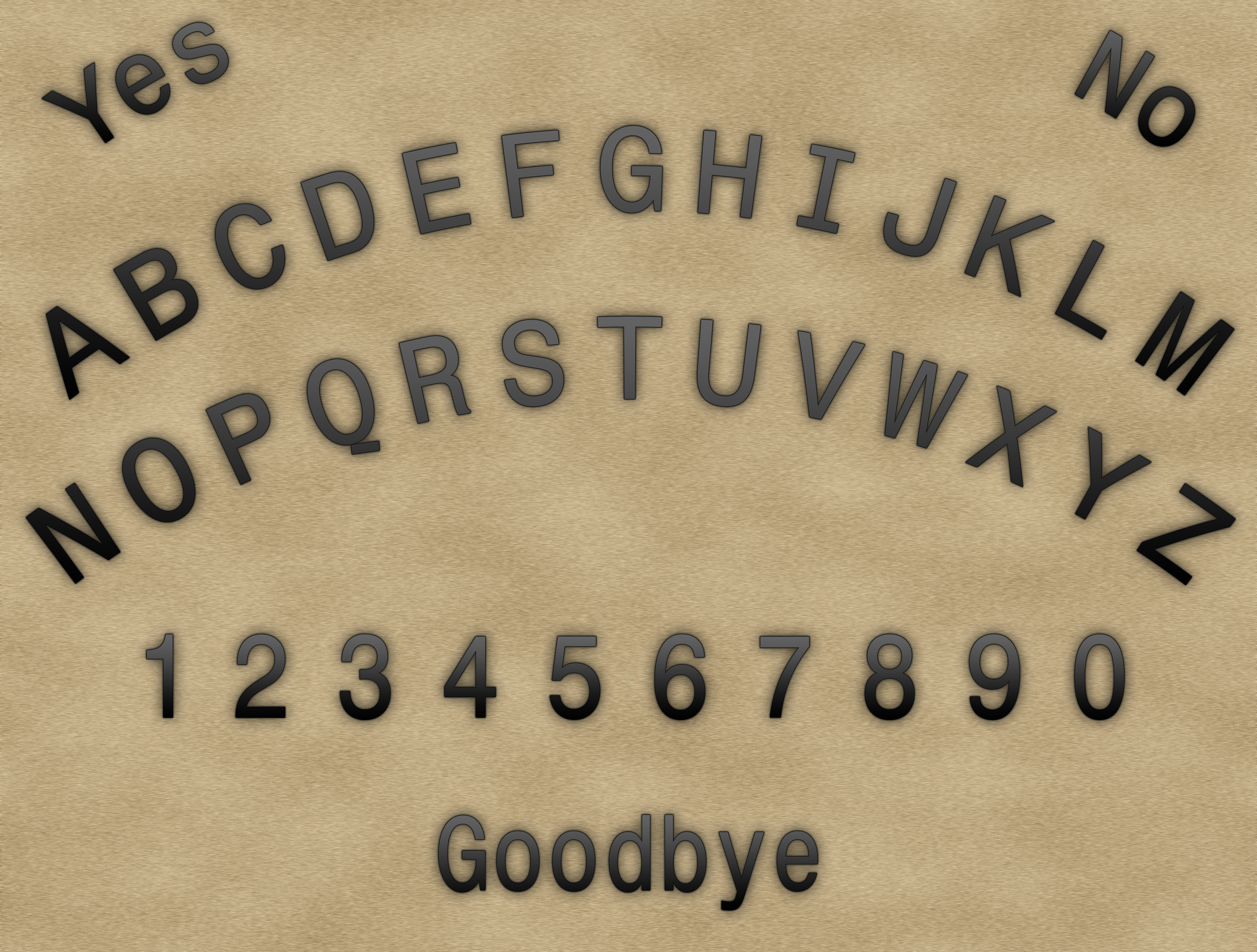 printable talking ouija board this page intentionally left ugly