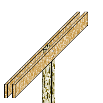 Cabin design: Foundation and 1st floor | This page intentionally