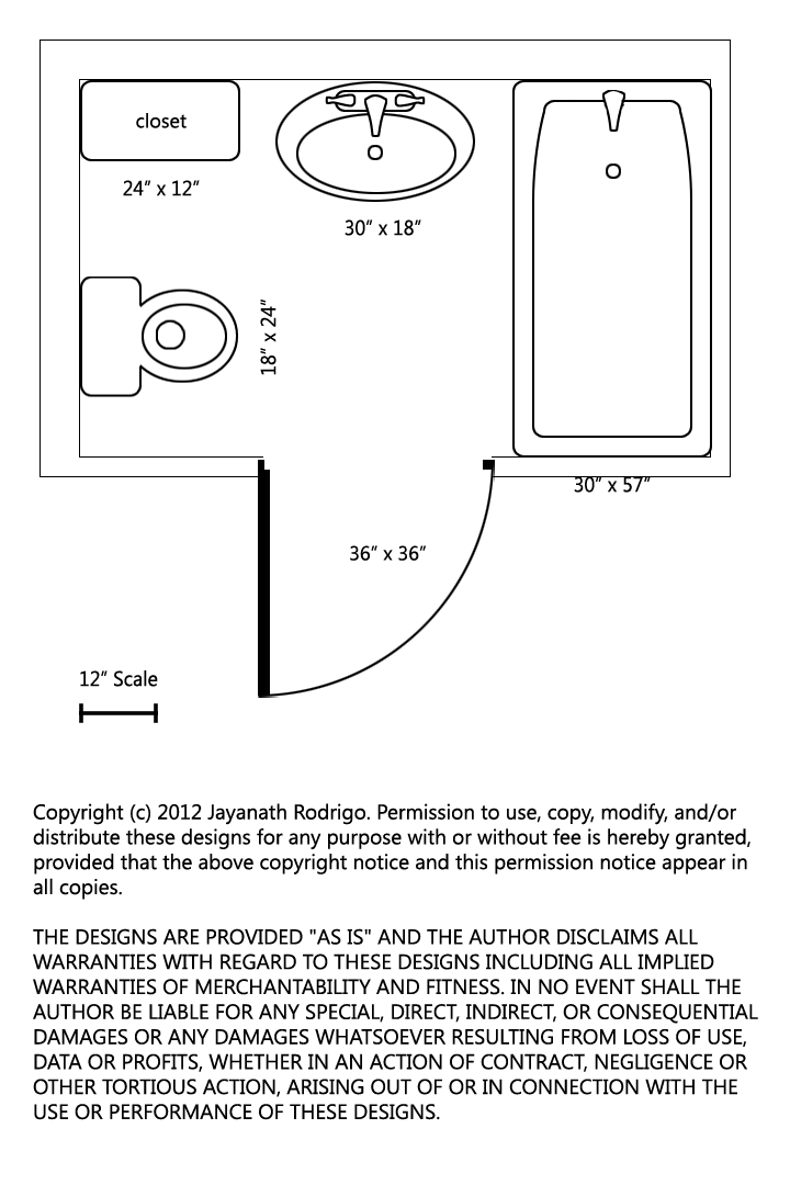Kitchen layout dimensions - Toilet Icon Blueprint September 2012 This Page Intentionally Left Ugly